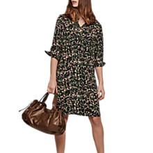 Buy Gerard Darel Hope Silk Dress, Dark Green Online at johnlewis.com