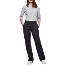 Buy Gerard Darel Paulin Trouser, Navy Blue Online at johnlewis.com