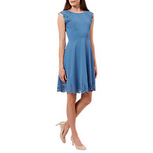 Buy Hobbs Dita Dress, Sky Blue Online at johnlewis.com