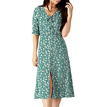 Buy Sugarhill Boutique Alice Romantic Midi Dress, Duck Egg Online at johnlewis.com