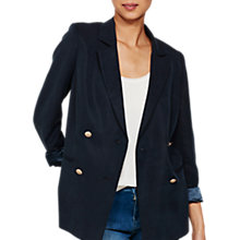 Buy Mint Velvet Military Blazer, Ink Online at johnlewis.com
