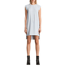 Buy AllSaints Tonya Stitch Dress, Grey Online at johnlewis.com