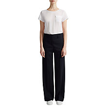 Buy French Connection Talulah Straight Leg Trousers Online at johnlewis.com