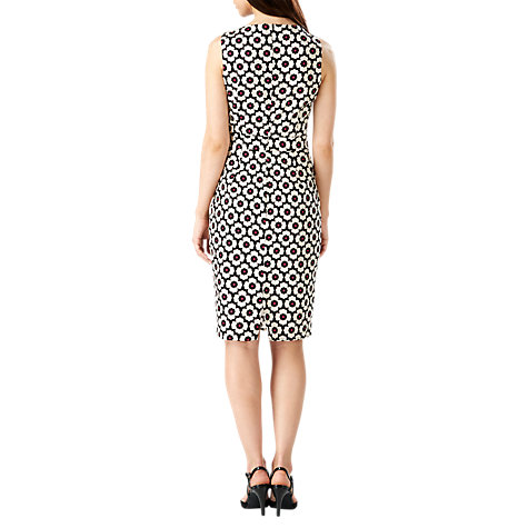 Buy Sugarhill Boutique Retro Floral Dress, Navy/Cream Online at johnlewis.com