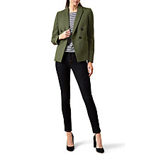 Buy Hobbs Coralyn Jacket, Green Online at johnlewis.com