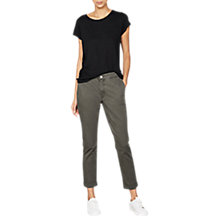 Buy Mint Velvet Casual Turn Up Trouser Online at johnlewis.com