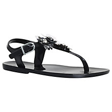 Buy Mini Miss KG Children's Mini Dream Sandals, Black Online at johnlewis.com