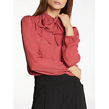 Buy Somerset by Alice Temperley New Bow Blouse Online at johnlewis.com