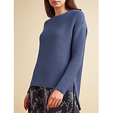 Buy Modern Rarity Links Jumper, Blue Steel Online at johnlewis.com