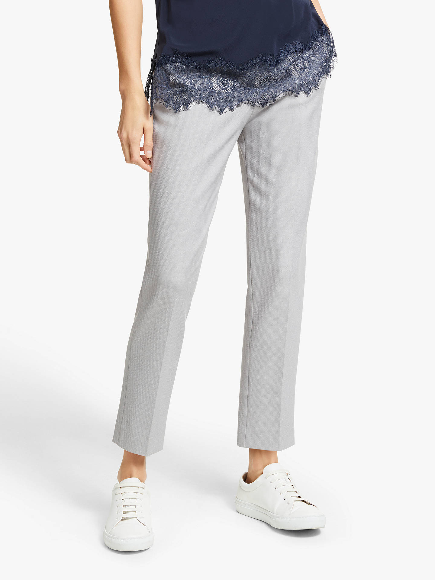 BuyModern Rarity Slim Leg Trousers, Grey, 8 Online at johnlewis.com