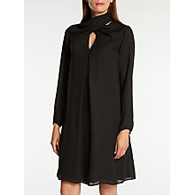 Buy Somerset by Alice Temperley Wrap Neck Dress, Black Online at johnlewis.com