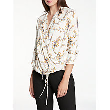 Buy Modern Rarity Blossom Print Wrap Blouse, Multi Online at johnlewis.com