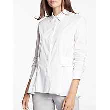 Buy Modern Rarity Belt Back Shirt, White Online at johnlewis.com