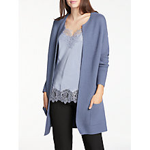 Buy Modern Rarity Links Cardigan, Blue Steel Online at johnlewis.com