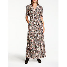 Buy Somerset by Alice Temperley Fireflower Maxi Dress, Black Online at johnlewis.com