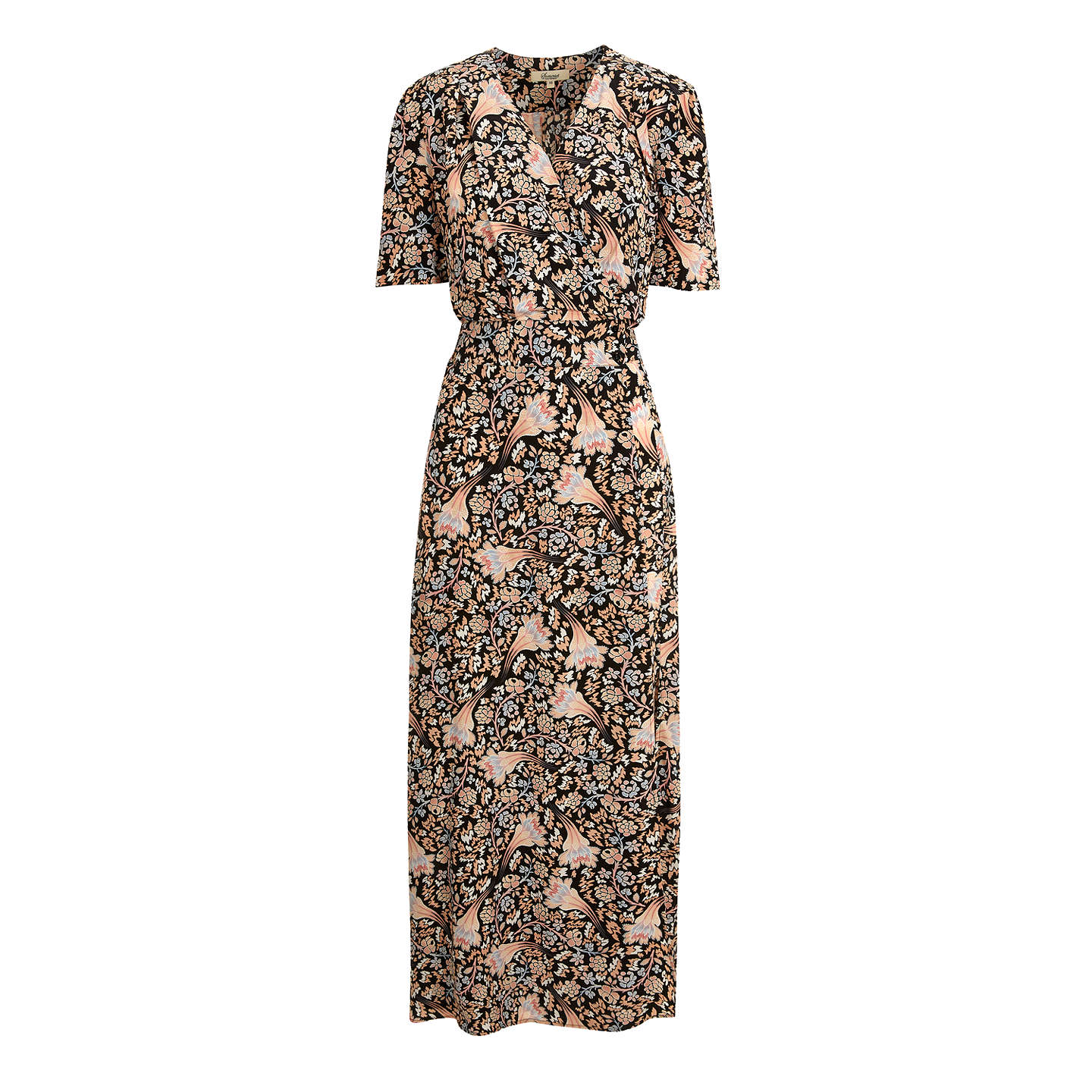 BuySomerset by Alice Temperley Fireflower Maxi Dress, Black, 6 Online at johnlewis.com