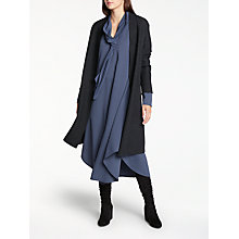 Buy Modern Rarity Tie Neck Dress, Blue Steel Online at johnlewis.com