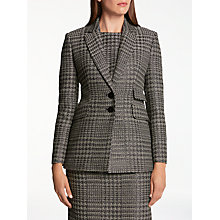 Buy Bruce by Bruce Oldfield Sparkle Tweed Blazer, Black Online at johnlewis.com
