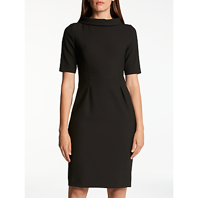 Bruce by Bruce Oldfield Picture Collar Dress, Black