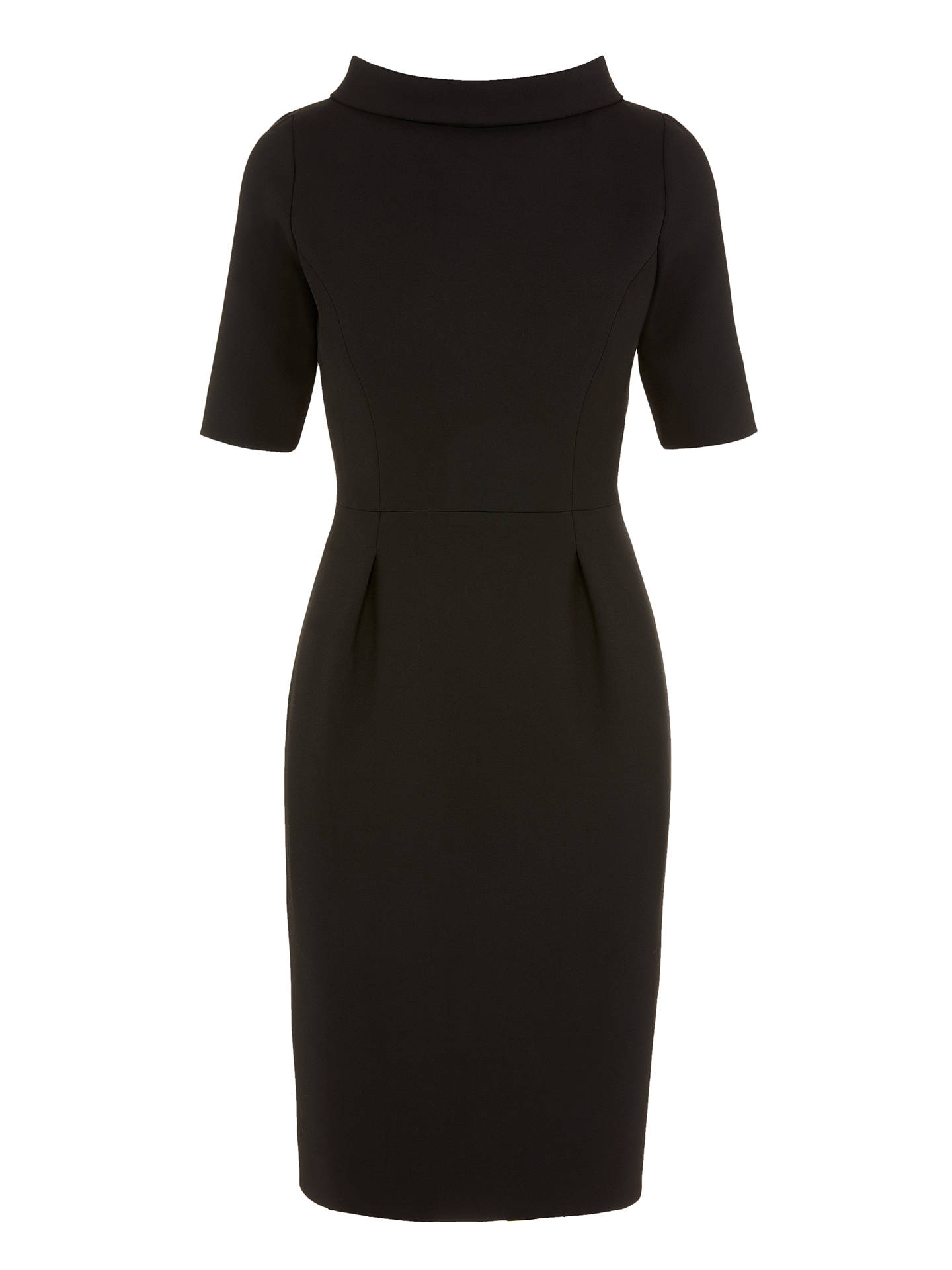 BuyBruce by Bruce Oldfield Picture Collar Dress, Black, 8 Online at johnlewis.com