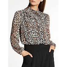 Buy Somerset by Alice Temperley New Bow Blouse, Multi Online at johnlewis.com