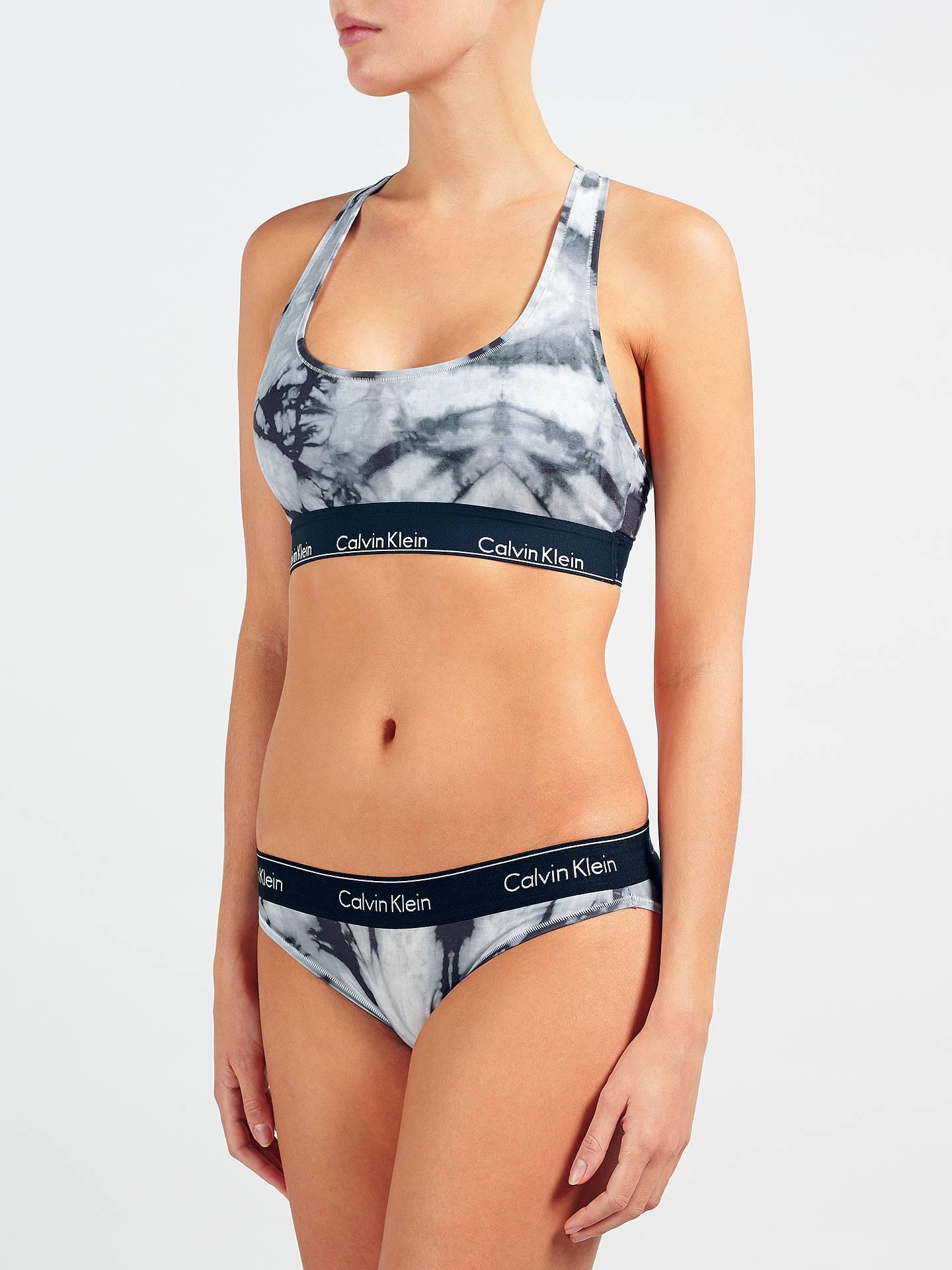 ff8b32f406 Buy Calvin Klein Underwear Modern Cotton Bleach Dye Bralette