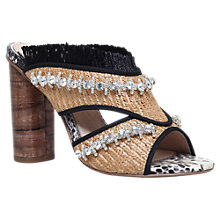 Buy KG by Kurt Geiger Holiday Occasion Mule Sandals, Beige/Other Online at johnlewis.com