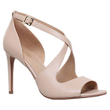 Buy MICHAEL Michael Kors Estee Cross Strap Stiletto Sandals Online at johnlewis.com