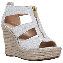 Buy MICHAEL Michael Kors Damita Wedge Heeled Sandals Online at johnlewis.com