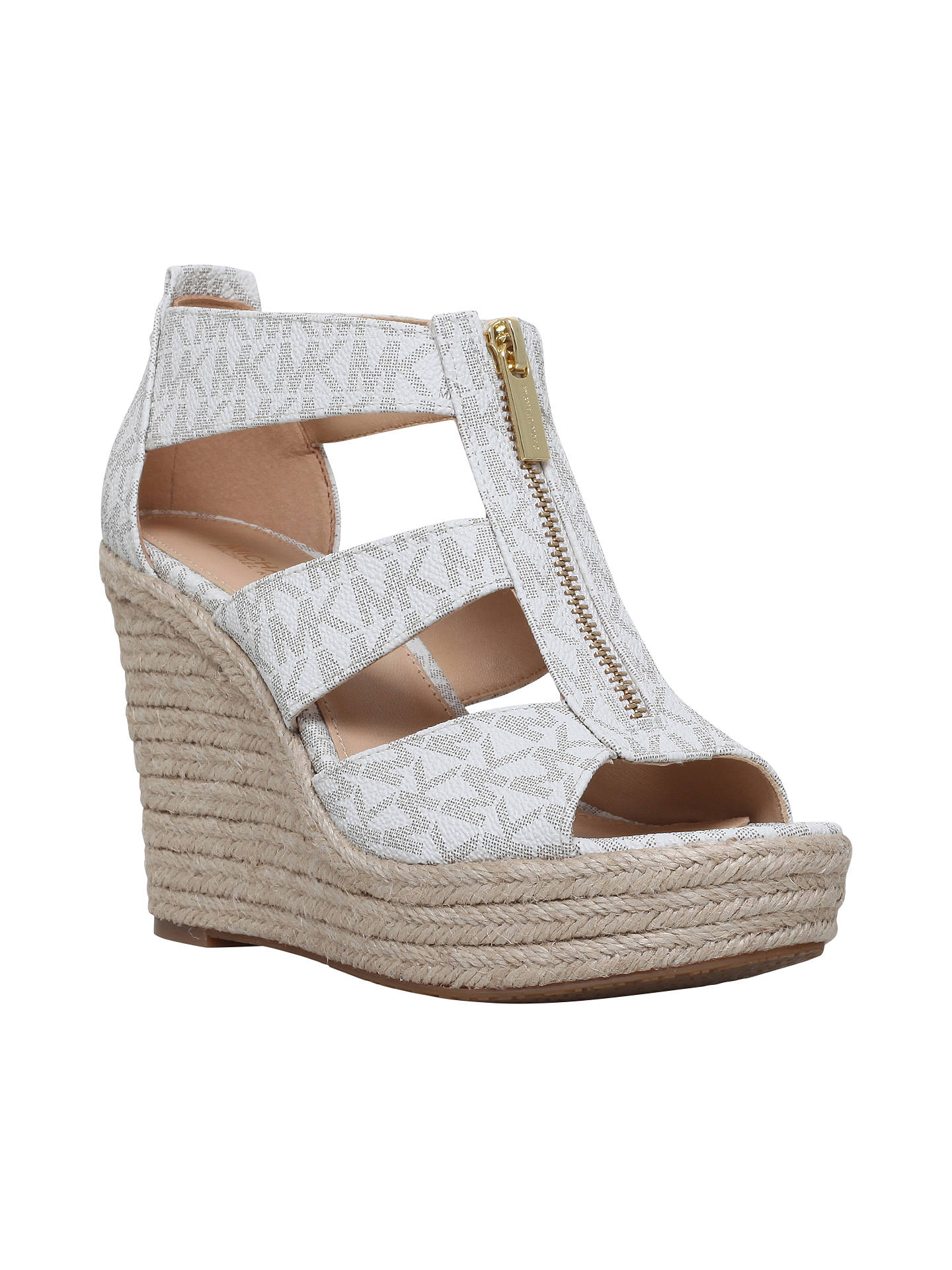 97b5de0cd75 MICHAEL Michael Kors Damita Wedge Heeled Sandals at John Lewis ...