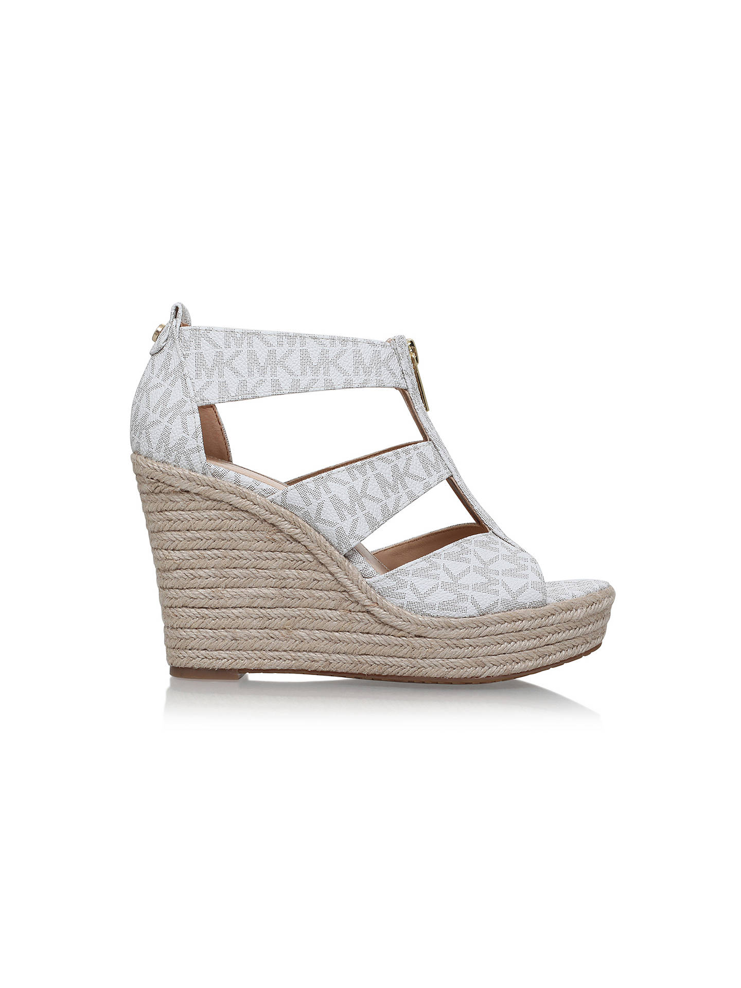 c6a588e1b3f8 MICHAEL Michael Kors Damita Wedge Heeled Sandals at John Lewis ...