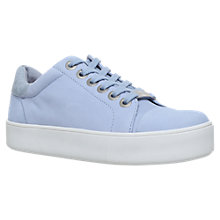 Buy Carvela Loot Lace Up Trainers, Blue Online at johnlewis.com