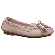 Buy Carvela Line Moccasins, Nude Online at johnlewis.com