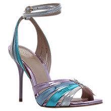 Buy KG by Kurt Geiger Jool Cross Strap Stiletto Sandals, Multi Online at johnlewis.com