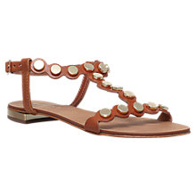 Buy Carvela Kliff Stud Sandals, Tan Online at johnlewis.com