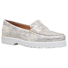 Buy Carvela Comfort Chaz Loafers, Gold Online at johnlewis.com