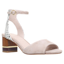 Buy KG by Kurt Geiger Nizzy Block Heeled Sandals Online at johnlewis.com