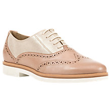 Buy Geox Janalee Brogues, Light Gold Online at johnlewis.com