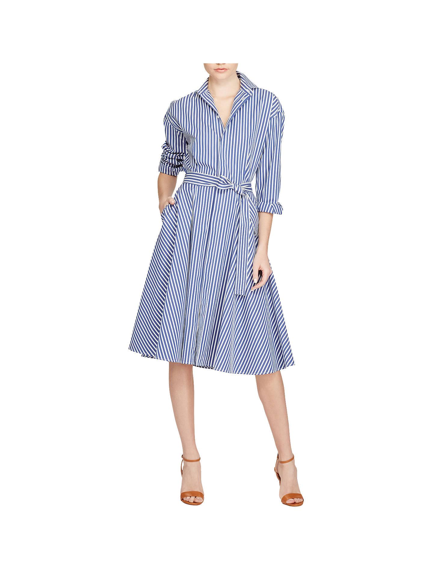 5df7438a3ba7 Buy Polo Ralph Lauren Striped Cotton Shirt Dress