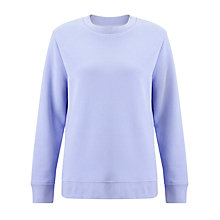 Buy Samsoe & Samsoe Caitlin Sweatshirt, Grape Mist Online at johnlewis.com