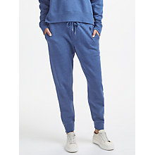Buy Polo Ralph Lauren Fleece Jogger Pants, Blue Heather Online at johnlewis.com
