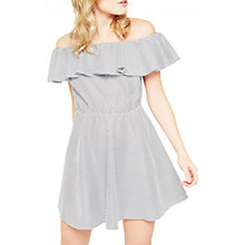 Buy Miss Selfridge Petite Ruffle Sun Dress, Multi Online at johnlewis.com