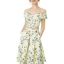 Buy Miss Selfridge Floral Print Midi Skirt, Multi Online at johnlewis.com