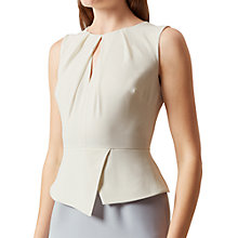 Buy Hobbs Carrie Dress, Pearl Blue Ivory Online at johnlewis.com