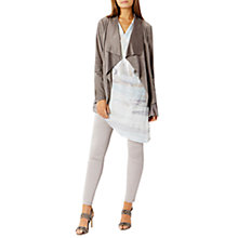 Buy Coast Jenner Draped Jacket, Grey Online at johnlewis.com