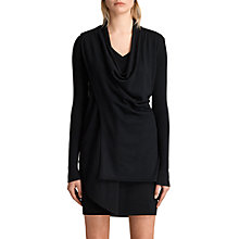 Buy AllSaints Drina V-Neck Knitted Dress Online at johnlewis.com