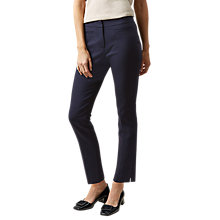 Buy Hobbs Annie Trousers, Navy Online at johnlewis.com