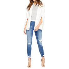 Buy Miss Selfridge Split Sleeve Blazer, Ivory Online at johnlewis.com