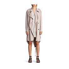Buy AllSaints Lia Mac, Dusty Pink Online at johnlewis.com