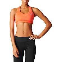 Buy Adidas Techfit Base Padded Sports, Coral Online at johnlewis.com